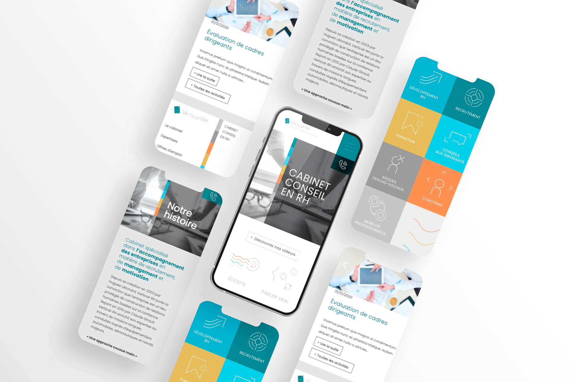Mobile first Vertical RH